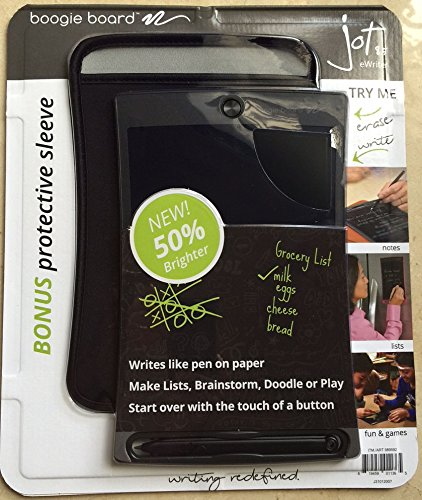 Purchase Boogie Board Jot 8.5 LCD eWriter Black Writing Tablet + Neoprene Sleeve + Stylus