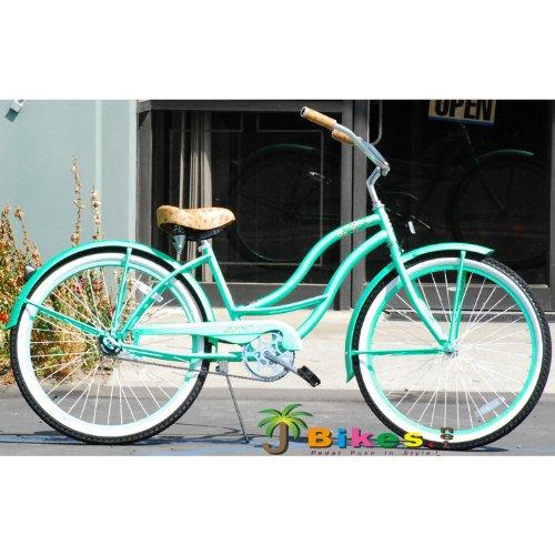 J Bikes Chloe, Mint Green - Women's 26