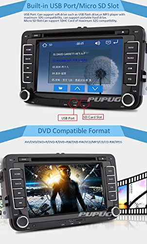 GPS-Navigation-Auto-DVD-Player-7-HD-Digital-Touchscreen-2-DIN-Spezial-Auto-Stereolithographie-Video-Player-mit-GPS-CANBUS-VW-Bluetooth-Untersttzung-Freisprecheinrichtung-Telefon-Gesprche