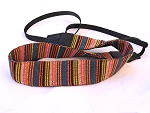 EzFoto Soft Multi-Color Neck Strap for Canon, Nikon, Fuji, Olympus, Panasonic, Pentax, Sony cameras