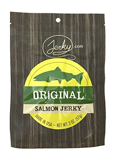 Original All Natural Wild Caught Fresh Salmon Jerky - 3 PACK - The Freshest and Best Salmon Jerky on the Market - 100% Whole Muscle Salmon - No Added
