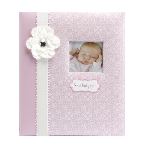 C.R. Gibson 5 Year Baby Memory Book, Bella front-933194