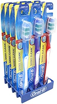 12 Pk of Oral-B Shiny Clean Toothbrush