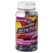 Stacker 3 Metabolizing Fat Burner with Chitosan, Capsules, 100 ct.