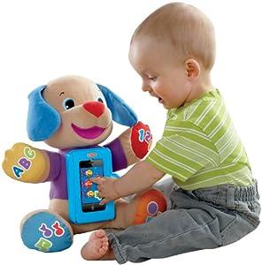 Fisher-Price费雪智能欢笑和学习防摔音乐小狗$14.99彩盒 Laugh and Learn Apptivity