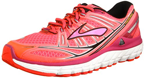 Brooks Womens Transcend Running Shoes, Color: DivaPink/FestivalFuschia/Blck, Size: 8.0 (Brooks Running Shoes Women Size 8 compare prices)