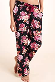 Limited Collection Pure Cotton Floral Print Pyjama Bottoms [T37-2416-S]