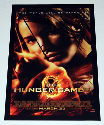THE HUNGER GAMES Poster Mini One Sheet Jennifer Lawrence Katniss Suzanne Collins
