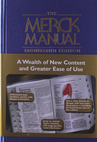 The Merck Manual of Diagnosis and Therapy, 18th Edition