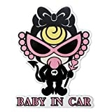 �����ɥǥ����� Baby In Car �ޥ��ͥå� ������ޡ��� ���ƥå��� �֤���� ����� �Хꥨ������� (�ԥ�ʸ��07)