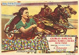 Theodora, Slave Empress Movie Poster (11 x 17 Inches - 28cm x 44cm) (1954) Spanish Style A -(Gianna Maria Canale)(Georges Marchal)(Renato Baldini)(Henri Guisol)(Irene Papas)