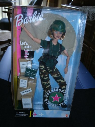 Paratrooper Barbie Doll: An Special Edition