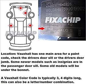 Vauxhall Car Stone Chip Touch Up Paint With Applicator Brush Touch Up Paint Vauxhall Any Colours Any Years For Astra Vectra Insignia Vxr from fixachip