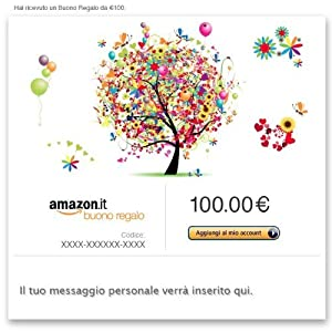 di Buoni Regalo Amazon.it (1590)  Acquista: EUR 100,00