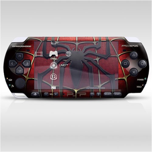 Pacers Spiderman Decorative Protector Skin Decal Sticker For Psp-3000 Item No.0858-28