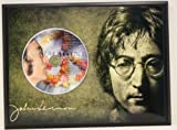John Lennon Limited Edition Picture Disc CD Rare Collectible Music Display