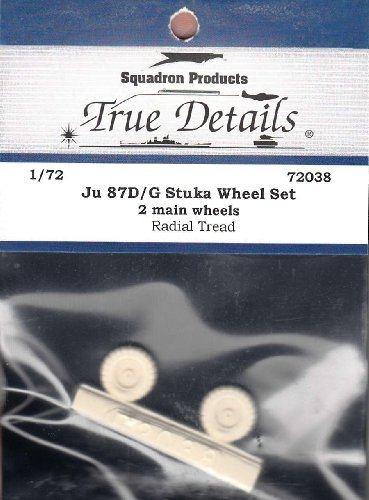 True Details Junkers Ju-87D-G Wheel Set