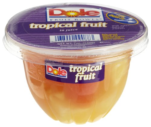 Dole Tropical Fruit in Juice 7 Ounce Cups Pack of 12