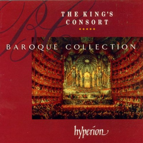 The King's Consort Baroque Collection by Antonio Vivaldi, George Frederick Handel, Georg Philipp Telemann, Johann Sebastian Bach and Henry Purcell