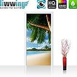 Non-woven door wallpaper 100x211cm (3'3