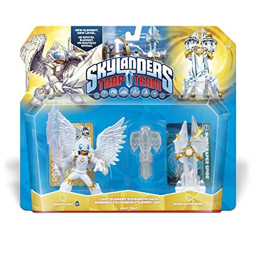 Skylanders Trap Team: Sunscraper Spire Light Element Expansion Pack by Activision (Skylander Light Expansion Pack compare prices)