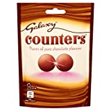 Galaxy Counters chocolate Pouch, 112 g