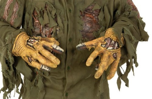 Adult Friday The 13th Jason Gloves