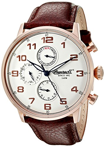 ingersoll-quartz-mens-quartz-watch-with-silver-dial-chronograph-display-and-brown-leather-strap-inq0