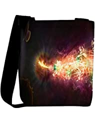 Snoogg Abstract Amazed Design Designer Womens Carry Around Cross Body Tote Handbag Sling Bags