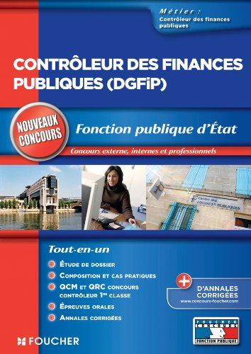 Contrôleur des finances publiques DGFIP Nouveaux concours (Concours Fonction Publique)
