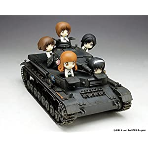 1/35 ガールズ&パンツァー IV号戦車D型 あんこうチーム プチあんこうチーム付き
