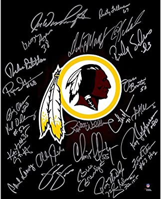 "Washington Redskins Autographed Legends 16"" x 20"" Photograph with 25 Signatures - Fanatics Authentic Certified"