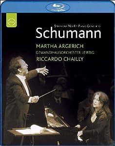 Schumann Piano Concerto I Piano Concerto No1 Symphony No4 Live Recording June 2006 Blu-ray from EUROARTS