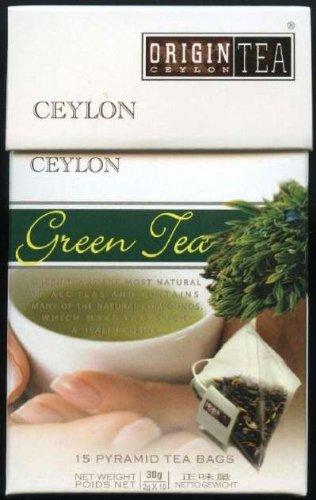 Ceylon Pearl Tea Sri Lanka Origin Tea Ceylon Green Tea Pyramids