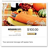 Amazon Gift Card - Email - Give Thanks
