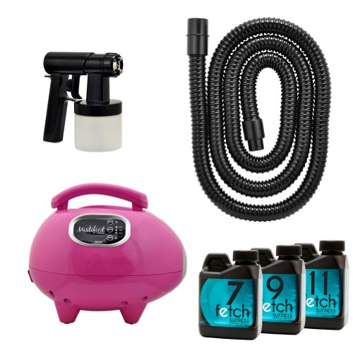 Mistified Pink Tanning Machine With Fetch Dha Sunless Spray Kit front-756247