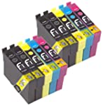 10 Epson Compatible Printer Ink for E...