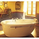 MAAX Tubs 100084 000 Maax Souvenir Freestanding Bathtub Biscuit