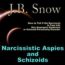Narcissistic Aspies and Schizoids: How to Tell If the Narcissist In Your Life Has Aspergers Syndrome or Schizoid Personality Disorder (       UNABRIDGED) by J. B. Snow Narrated by Alicia Giangrisostomi