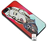 Case for HTC ONE M8 Tattoo Marilyn Monroe Bad Girl 70's Sexy Stars Hollywood US USA America American United States Bad Blonde Curly Lips Lip Stick Gang Changed Slim Hipster Popular Hipster Popular Classic Trendy Vintage Duraterm Technology