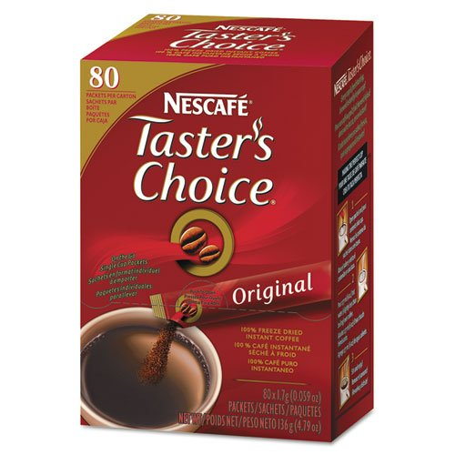 Nescafe Coffee, Taster's Choice Stick Packs, Original , 80 Count 4.79 Ounce (Instant Coffee Single Packs compare prices)