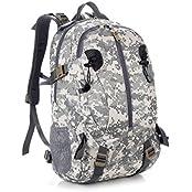Paladineer Portable Outdoor Sport Waterproof Hiking Backpack Travel Dayback Military Backpack Waterproof Rucksacks...