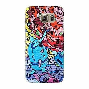 Fusion Gear Graffiti Art Glass Case for Samsung Galaxy S6
