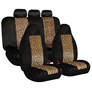 FH-FB125115 Camouflage Car Seat Covers, Airbag compatible and Split Bench from FH