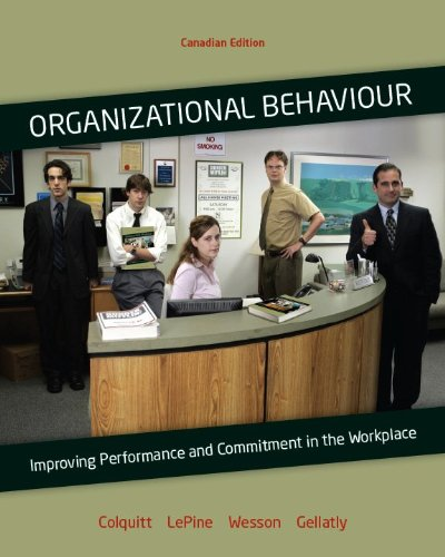 Organizational Behavior : Improving Performance