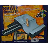 Skate Monster Tech Deck TechDeck Monster park Stairs Ramp with Grind Rails by SKATE MONSTER