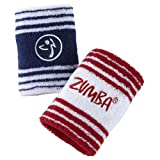 Zumba Wear Women's England Wristband (Pack of 2)