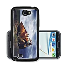 buy Liili Premium Samsung Galaxy Note 2 Aluminum Snap Case Yellow Tractor On Golden Sunrise Sky Photo 9648780