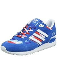 Adidas Men's ZX 750 , BLACK/BLUE/WHITE