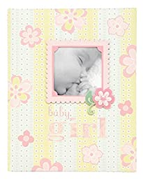 C.R. Gibson Bound Keepsake Memory Book of Baby\'s First 5 Years, Lulu